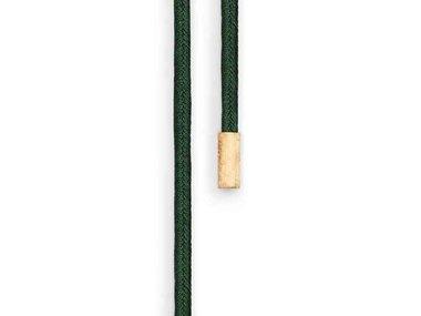 Ole Lynggaard | Double Design silk string - Dark green