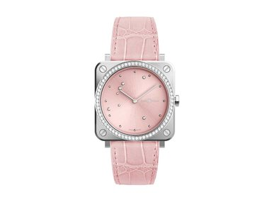 Bell&Ross | BR S Pink Diamond Eagle