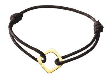 dinh van | Impression cord bracelet
