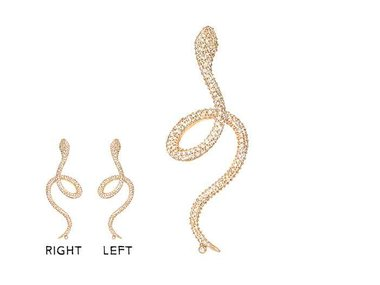 Ole Lynggaard | Earring Snakes diamond