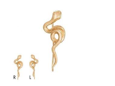 Ole Lynggaard | Snakes earring