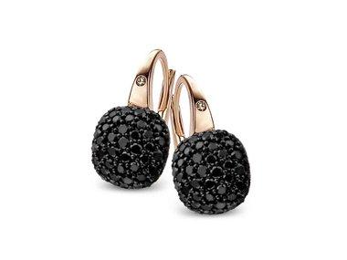 Bigli   Mini Sweety Earrings - Black diamond