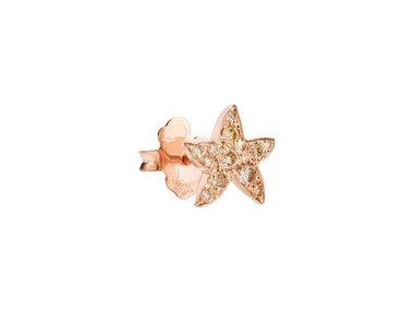 DoDo   Star earstud - Brown diamond