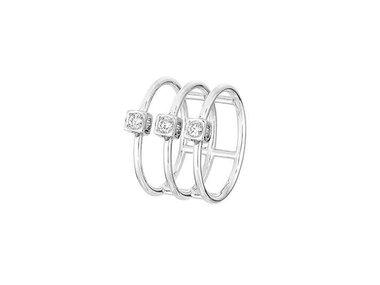 dinh van | Le Cube Diamant ring