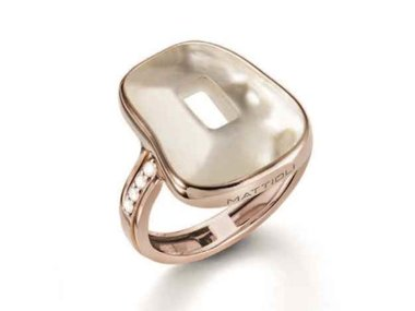Mattioli | Kit Puzzle ring - 18kt rose gold