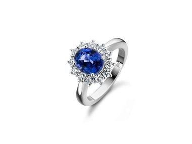 Franssen Collection | Entourage ring - Sapphire