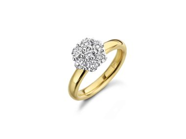 Franssen Collection | Mini One Carat ring - Bicolor