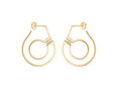dinh van | Menottes dinh van hoop earrings - R27,5