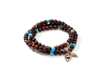 Tamara Comolli | India bracelet -Snake Wood &Turquoise