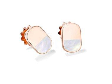 Mattioli | Aruba earstuds - Mother-of-pearl