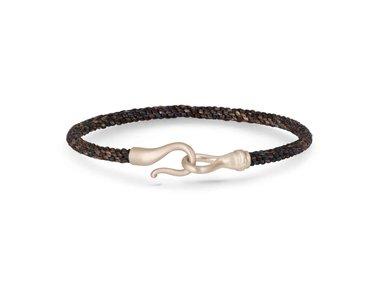 Ole Lynggaard | Life bracelet Men's - Maroon