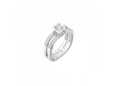 dinh van | Le Cube Diamant ring - Large