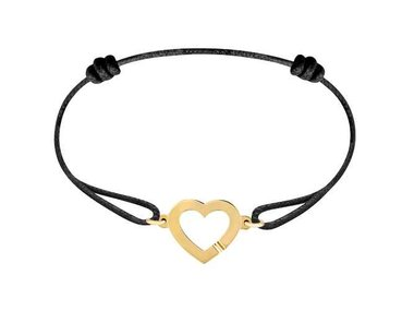 dinh van | Heart cord bracelet