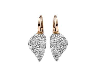 Bigli   Mini Leaves earrings
