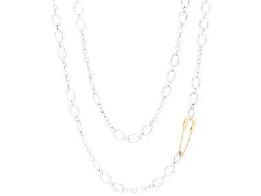 DoDo | Safety pin necklace