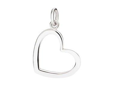 DoDo | Heart silhouette charm