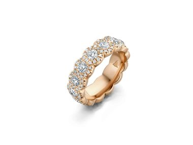 Franssen Collection | Eternity Halo 3.53ct