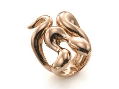 Mattioli | African Queen snake ring - 18kt rose gold