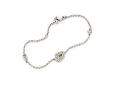 Mattioli | Puzzle bracelet - 18kt white gold, 0.42ct diamonds