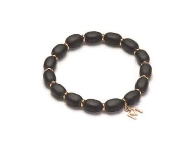 Mattioli | African Queen bracelet - 18kt rose gold and Onyx
