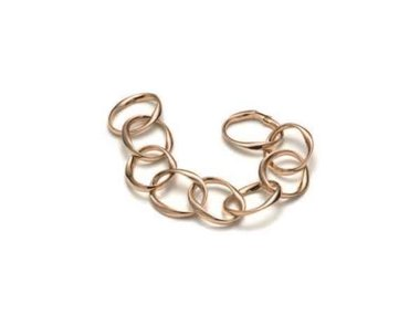 Mattioli | Chips bracelet - 18kt polished rose gold