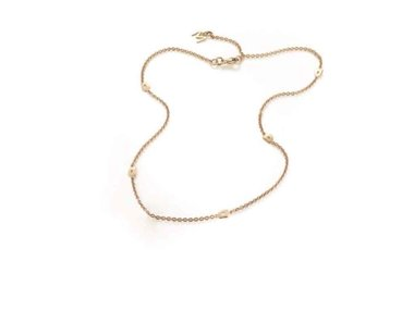 Mattioli | Puzzle necklace 45cm - 18kt rose gold
