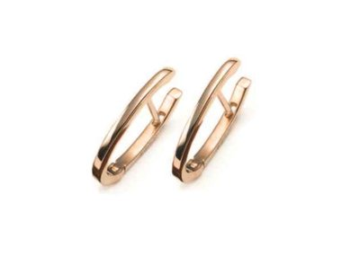 Mattioli | Puzzle small hoops - 18kt rose gold