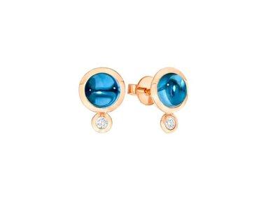 Tamara Comolli   Bouton earrings 18kt rose gold