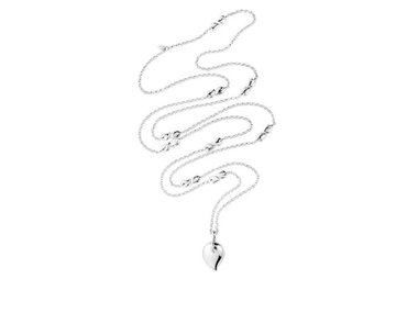 Tamara Comolli | Drop necklace with XL droplet in 18kt white gold