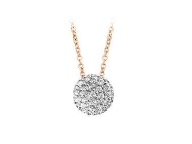 Bigli | Mini Wave necklace - 45cm - Small wave
