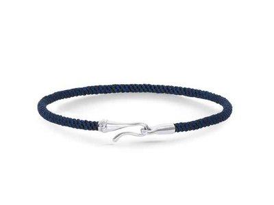 Ole Lynggaard | Life bracelet - Midnight blue